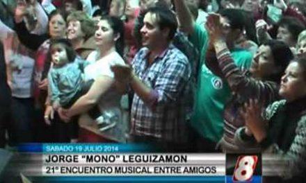 Jorge «Mono» Leguizamón en el Encuentro Musical entre Amigos