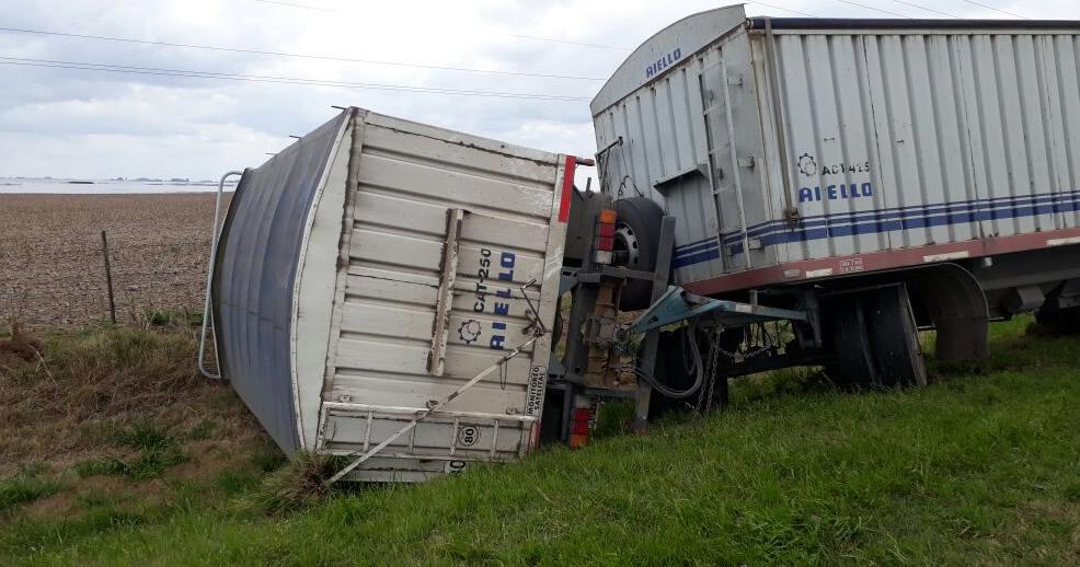 Accidente fatal en Ruta 33 entre Amenabar y Rufino