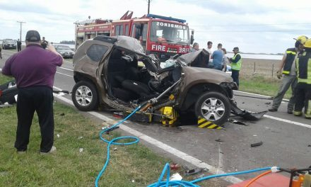 Accidente fatal en Ruta 33 entre Amenabar y Rufino