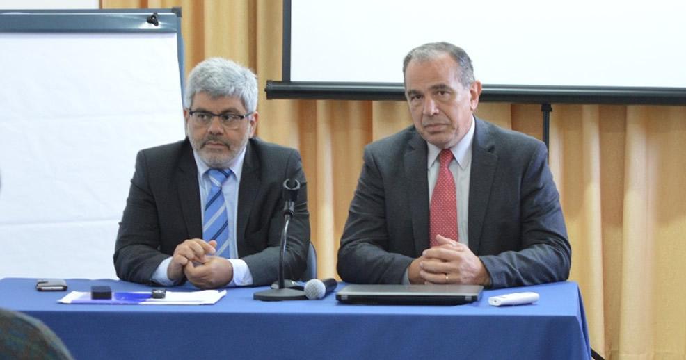 Fiscal General Baclini se reunió con Fiscales