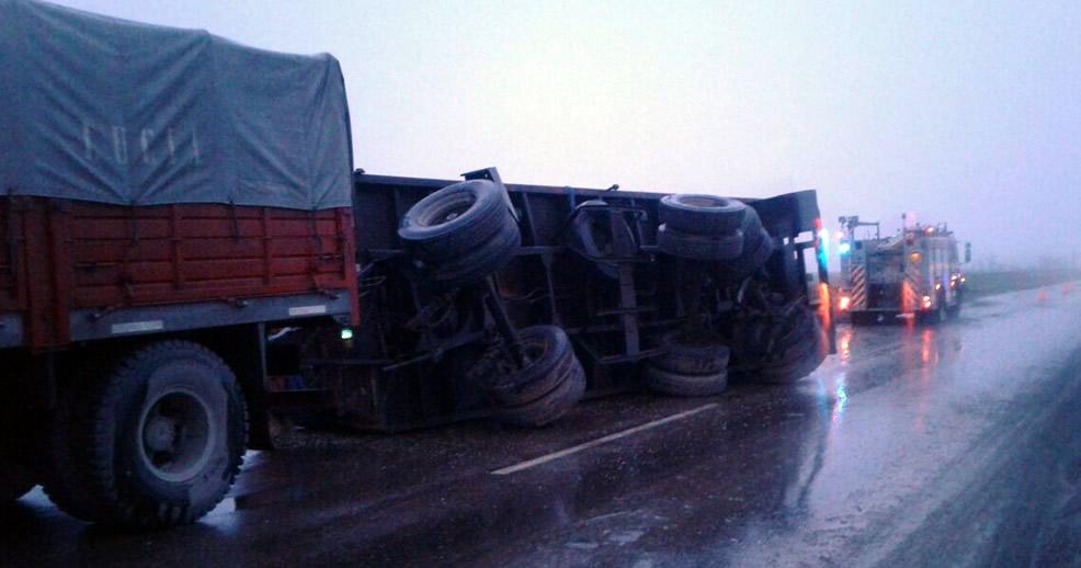 Nuevo accidente en Ruta 33 hacia Cañada