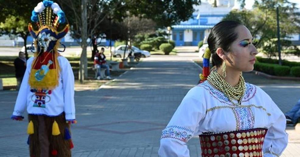"Ballet Integración Andina ""Raíces del Ecuador"" en Rufino"