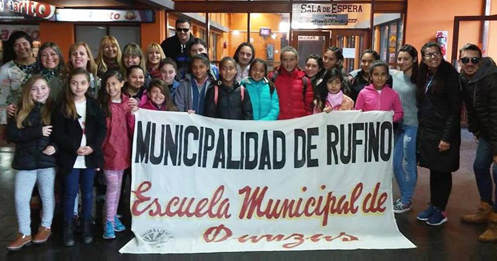 Rufinenses viajaron a Piedritas a participar de Torneo en Danza y Gimnasia