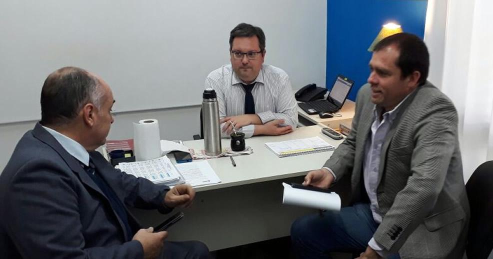 Fiscal Puyrredón se reunió con Clavero