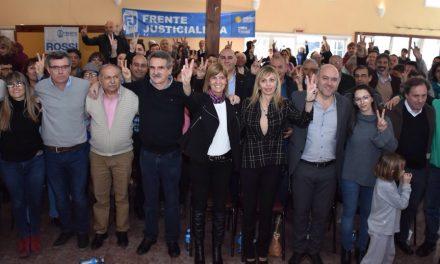 Presentación de la lista del Frente Justicialista en Venado Tuerto