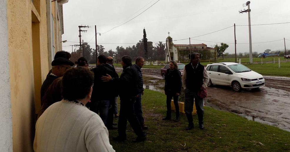 Leguizamón recibió la visita del Gobernador Cordobés