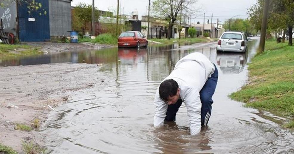 Martes de lluvias en la ciudad