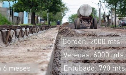 Obras en el Barrio San Martín
