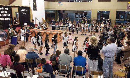 Desfile Educativo en la Escuela Técnica de Rufino