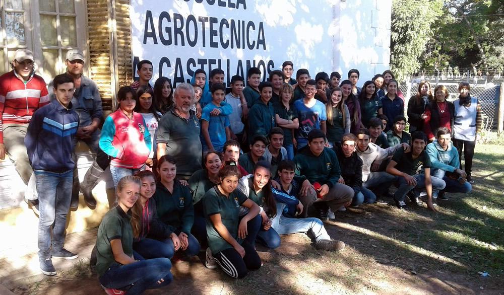 Agrotécnica de Aaron Castellanos en su muestra anual