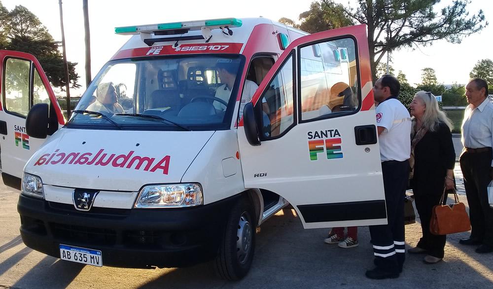Ambulancia de Alta Complejidad para el Samco Rufino