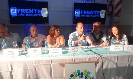 El Frente Justicialista presentó a sus candidatos a Concejales