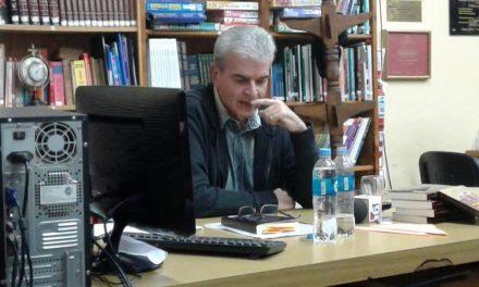 El Profesor Alberto Giordano presentó su libro
