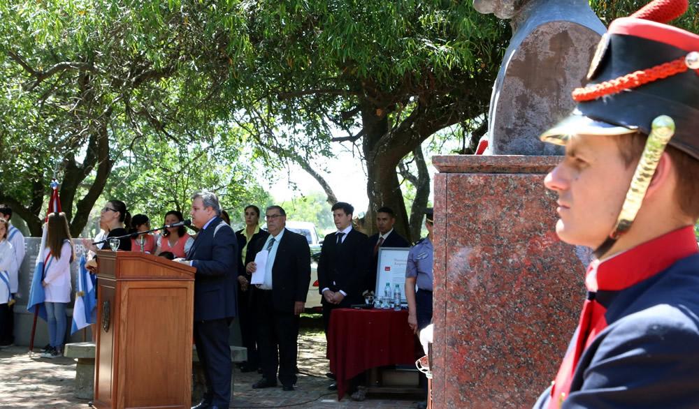 Con un acto en Cayastá, la provincia celebró los 444 años de la fundación de Santa Fe