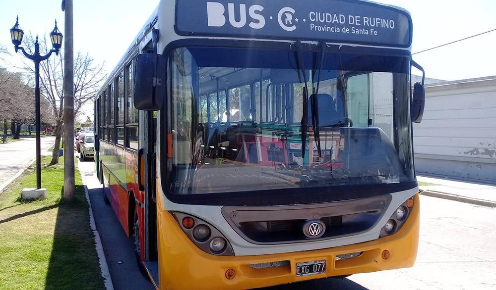 El 15 se reanudará el transporte de pasajeros