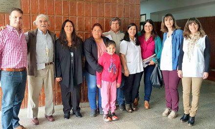 El senador Enrico respalda los proyectos de la Escuela 586 y de los jubilados de Rufino
