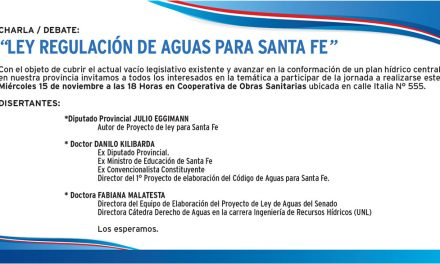 Ley Regulación de Aguas para la Provincia de Santa Fe