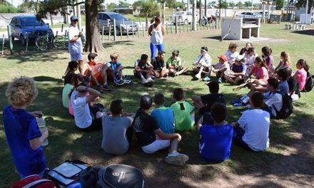 Renovadas obras en Canchas de Tenis del Parque Municipal de Rufino