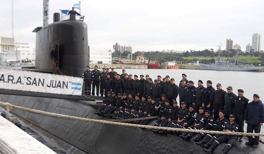 Senadores del FPV recibirán a familiares de la tripulación del ARA San Juan
