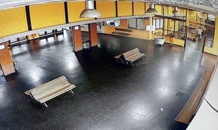 Cámaras de seguridad en la terminal de ómnibus