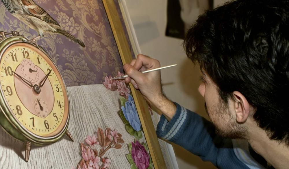 Muestra de Pinturas del artista plástico Emiliano Grijalba