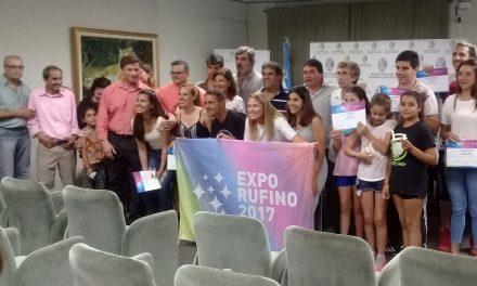 Reconocimiento a Sponsors y Artistas por la Expo Rufino 2017