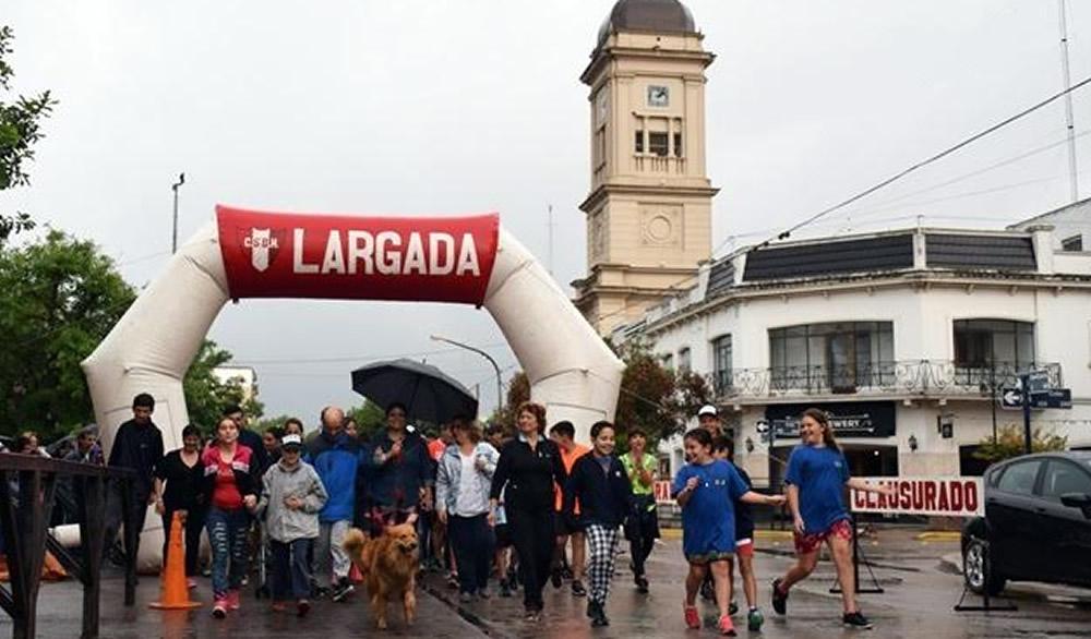 Se realizó la Maratonata en Rufino