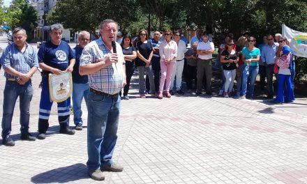 Paro y Movilización contra el Ajuste Jubilatorio en Rufino