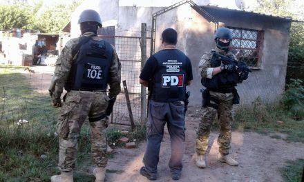 Secuestran armas y drogas en Rosario, Firmat y la Carcel de Piñero