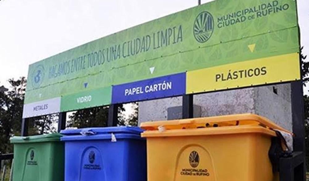 Recolección de residuos para este fin de semana