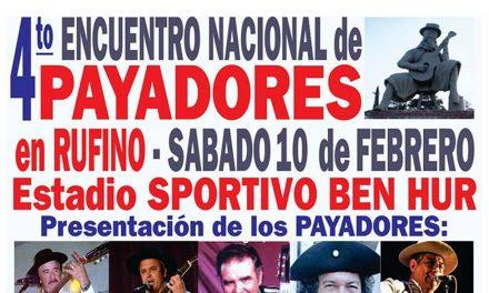 Encuentro Nacional de Payadores en Rufino