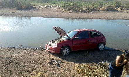 Automóvil en el que viajaba una familia volcó en Ruta 33 cerca de Rufino