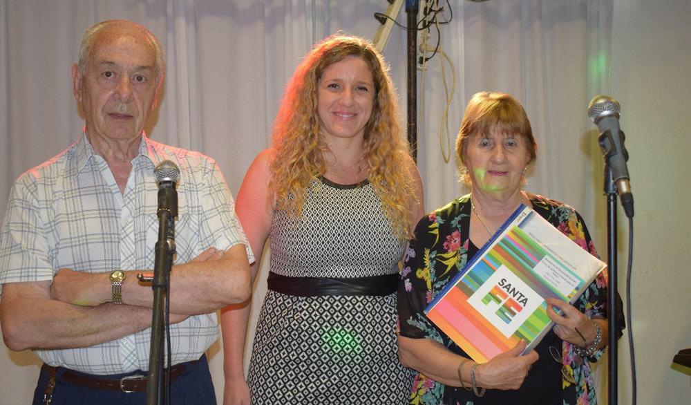 El Centro de Jubilados y Pensionados de Rufino festejó su 42 aniversario