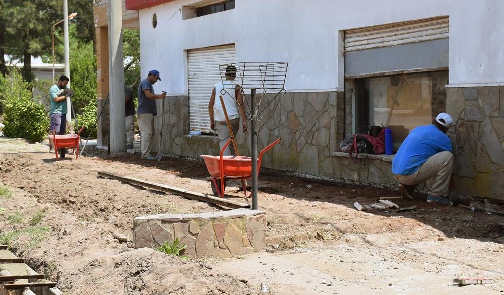 Continúan las obras en el barrio General San Martín