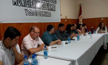 Las Intersindicales del sur santafesino comenzaron a coordinar un plan de lucha
