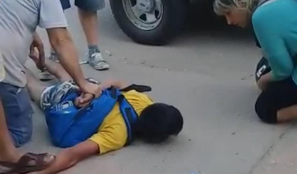 Arresto ciudadano en Venado Tuerto