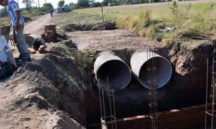 Avanzan las obras en el canal Iriondo