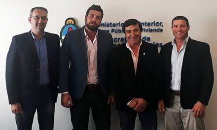 Reunión en el Ministerio del Interior