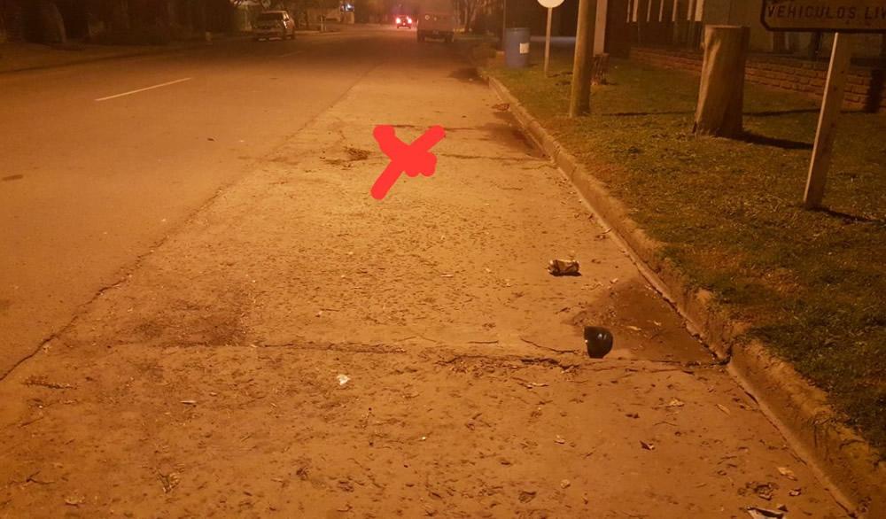 Peatón fue atropellado por automóvil en Sancti Spiritu