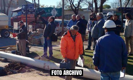 Reducido el tránsito vehicular a media calzada en Manuel Roca al 400 desde Mayo