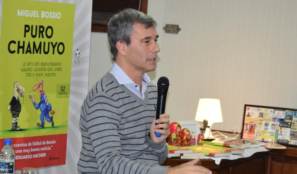 Miguel Bossio Presentó Puro Chamuyo