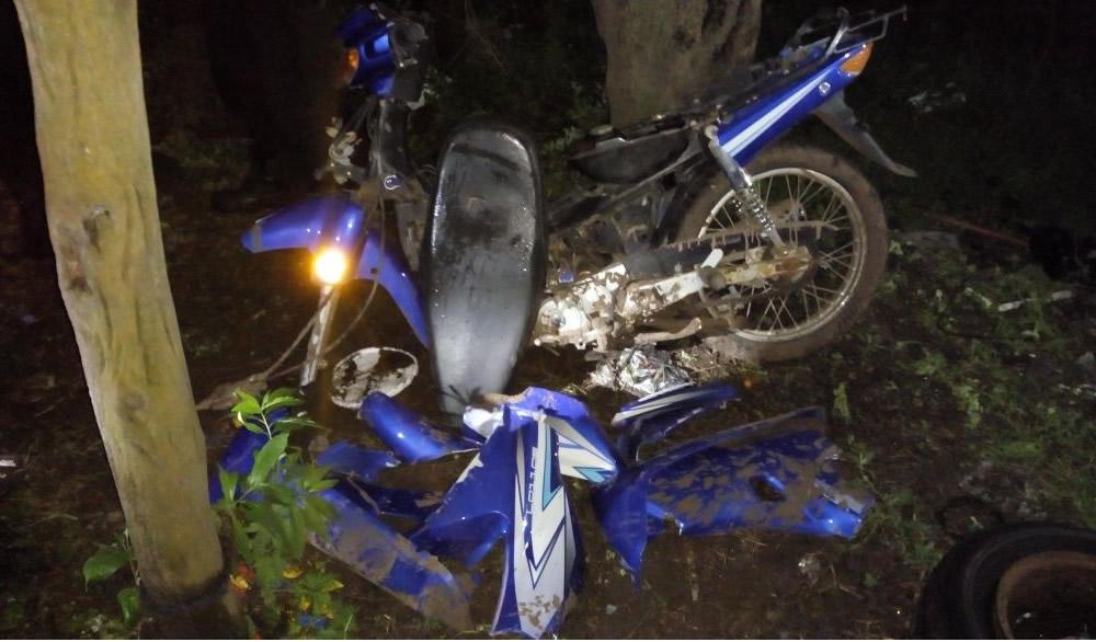 Hallaron una moto robada en un galpón abandonado