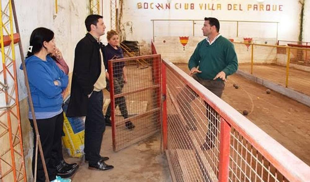 Visita al Club Villa del Parque