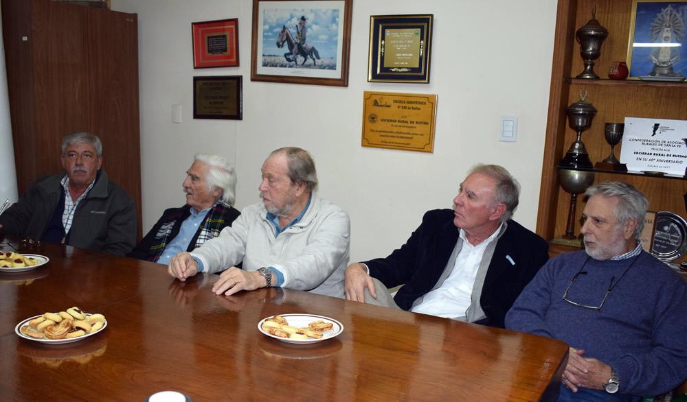 Buzzi, Biolcatti, Llambías, Miguens y Garetto en Rufino