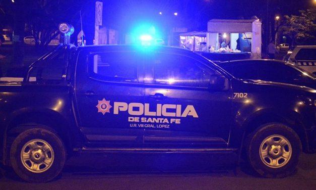 En Amenábar un jóven fue demorado por desobediente y por colisionar contra el móvil policial