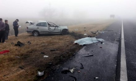 Un jóven falleció en accidente en Ruta 8