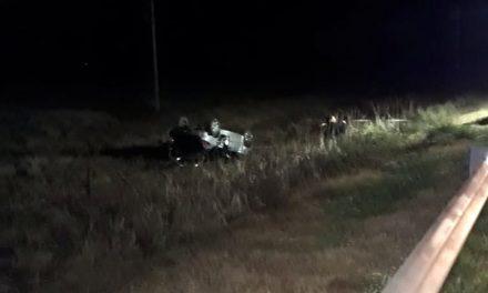 Fallece mujer por despiste de automóvil en Ruta 33
