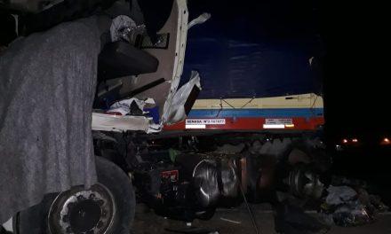 Fallece camionero en choque frontal en Ruta 33  cercano a Amenabar
