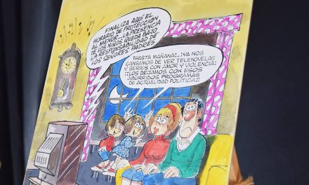 """Se inauguró la muestra """"Dobal, 75 años de humor"""""""