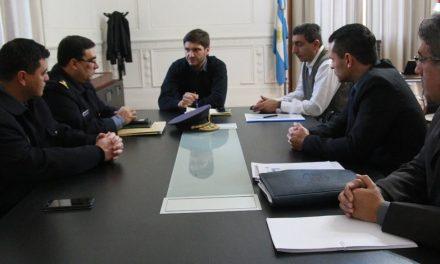Reunión con Jefes policiales de la región Venado Tuerto